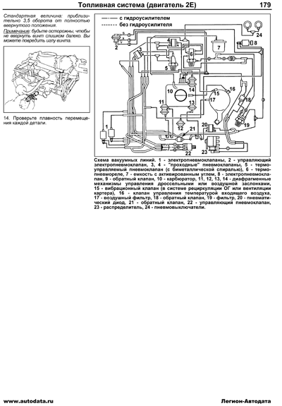 toyota corolla 110 (1997-2001) carb  engines: 2e (1 3) carb  information  volume: 5 pages