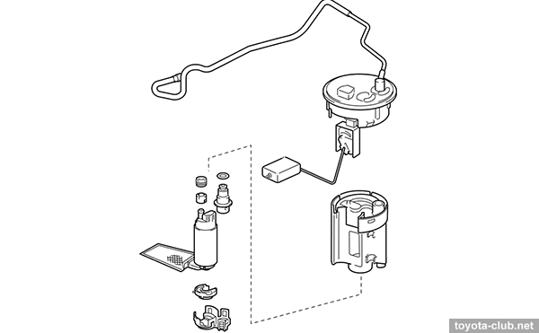 2003 Rav4 Fuel System Diagram