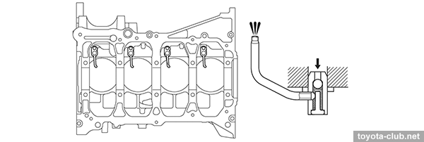 The Oil Filter Is Located Vertically Under Engine: Toyota 2az Fe Engine Diagram At Aslink.org