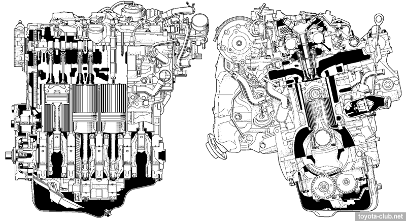 Toyota AD series diesel engines