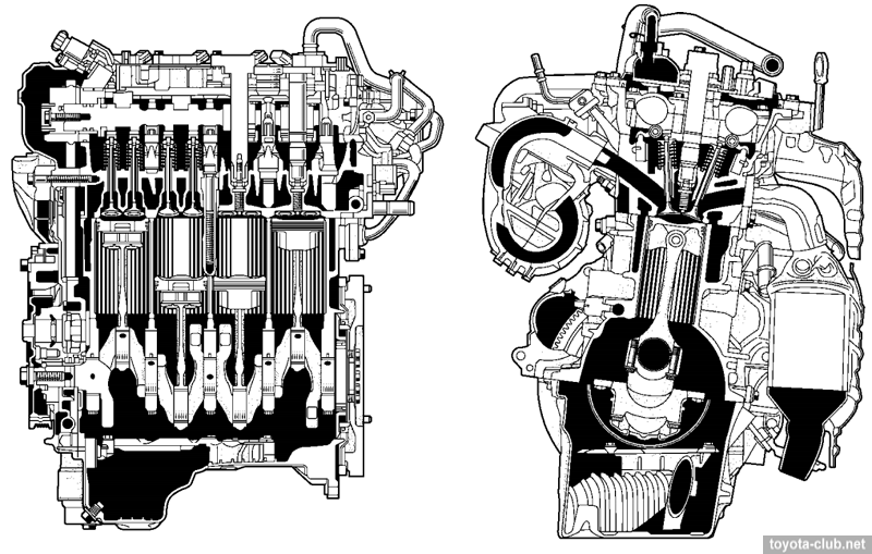 Toyota NR series engines