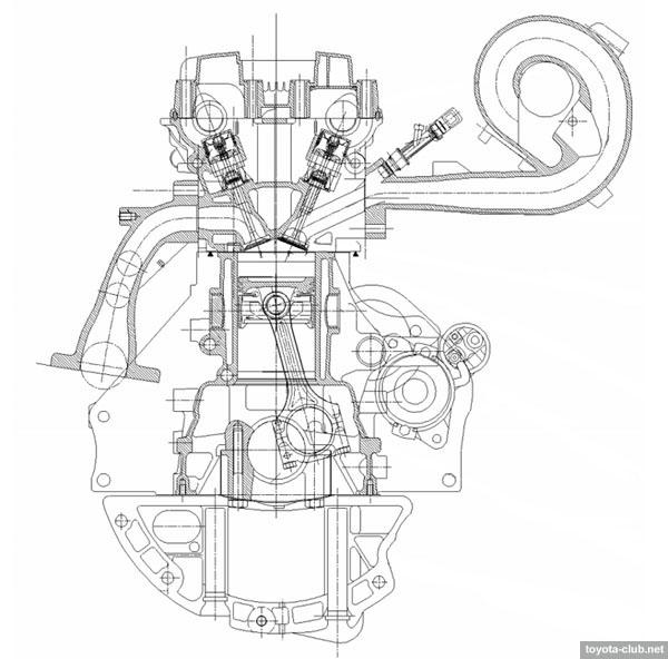 аналогичных двигателей на