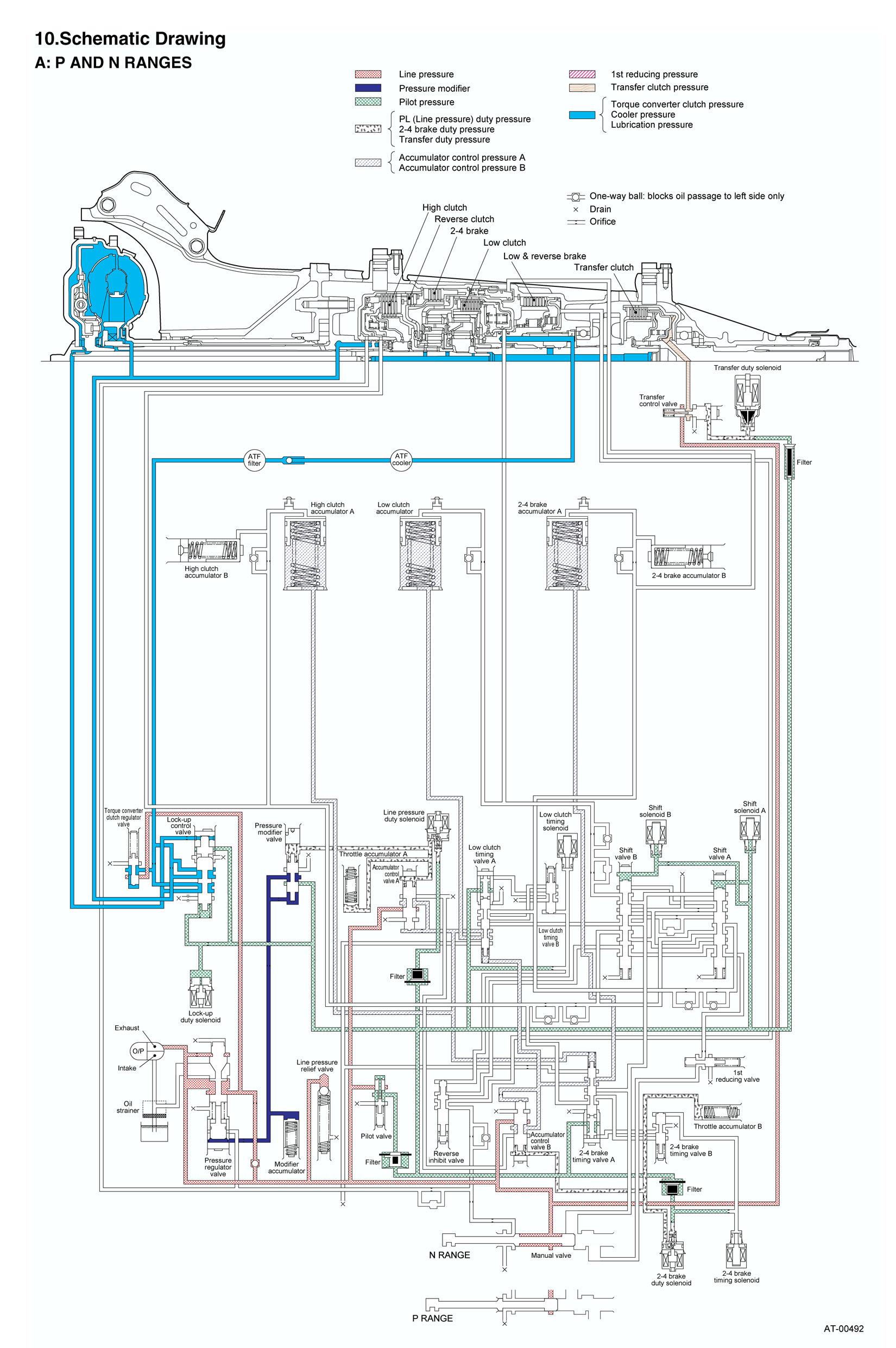 схема подачи топлива субару форестер