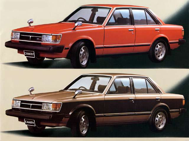 Toyota 1980 ые